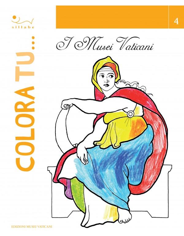 Colour it in... 4 - Vatican Museums