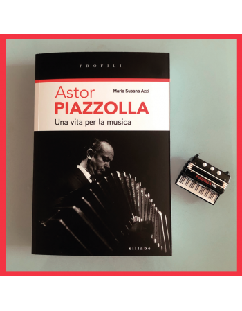 Astor Piazzolla Set: book +...